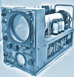 1943 H2S first airborne, ground scanning radar system